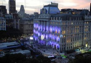 buenos aires 21mayo2015 Cristina inaugura el Centro Cultural Néstor Kirchner en el viejo edificio del Correo Central foto amda/telam/dsl